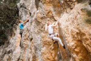 Соревнования по скалолазанию в Ялте